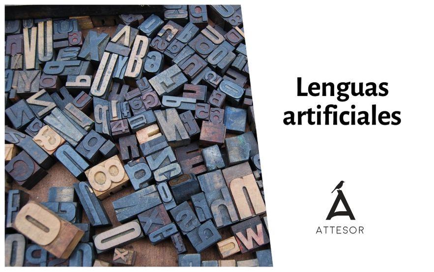 Lenguas artificiales