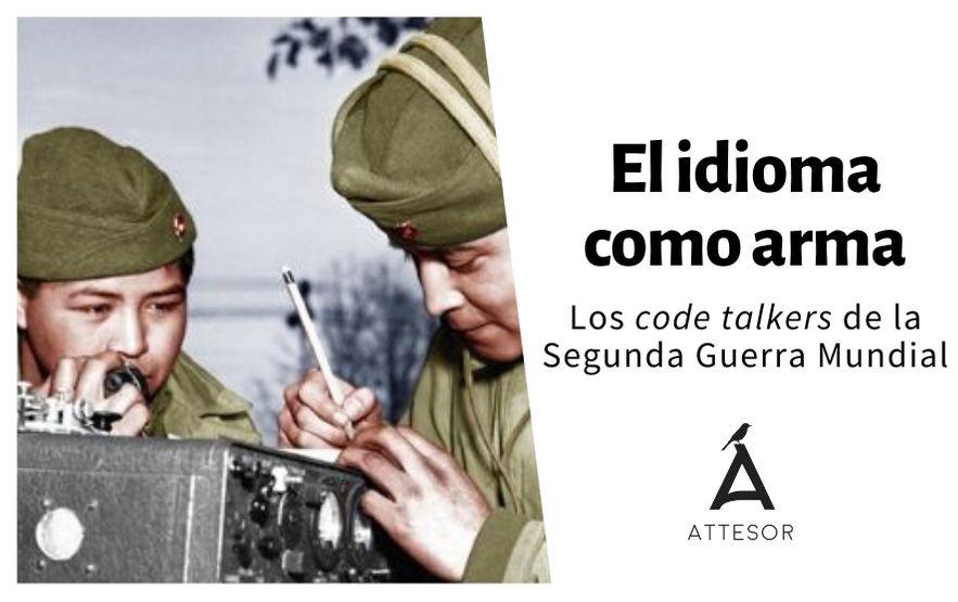 La traducción y los code talkers de la Segunda Guerra Mundial
