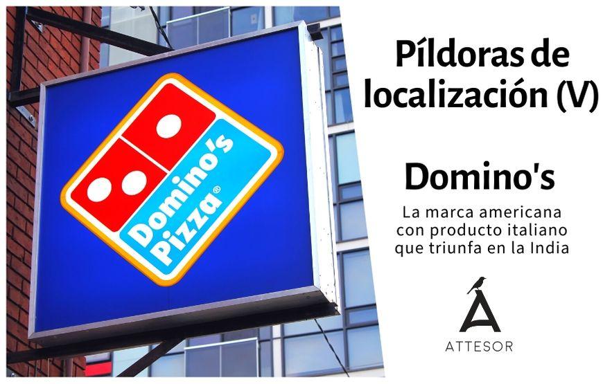 La estrategia de localización de… Domino's Pizza