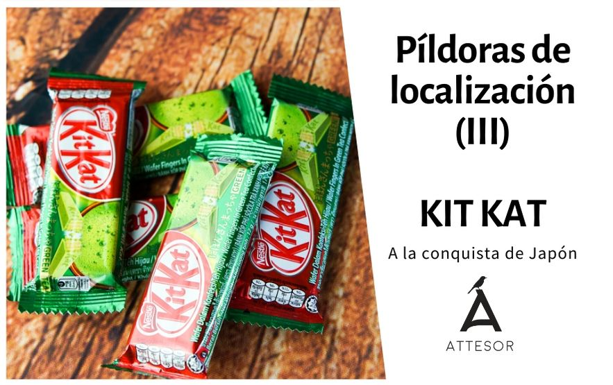 La estrategia de localización de… Kit Kat, a la conquista de Japón