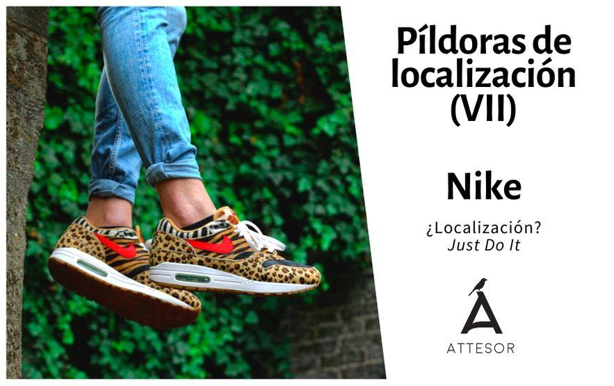 La estrategia de localización de… Nike: Just Do It